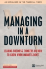 Managing in a Downturn - eBook