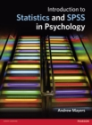 Introduction to Statistics and SPSS in Psychology - Book