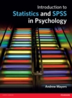Introduction to Statistics and SPSS in Psychology - eBook