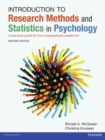 Introduction to Research Methods and Statistics in Psychology : A practical guide for the undergraduate researcher - Book