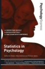 Psychology Express: Statistics in Psychology (Undergraduate Revision Guide) - Book