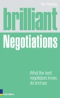 Brilliant Negotiations 2e : What the best Negotiators Know, Do and Say - eBook