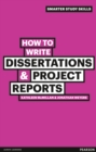 How to Write Dissertations & Project Reports - Book