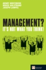 Management? It's not what you think! - eBook