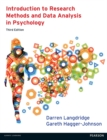 Introduction to Research Methods and Data Analysis in Psychology 3rd edn : UEL - eBook