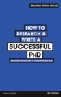 How to Research & Write a Successful PhD - Book