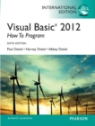 Visual Basic 2012 How to Program, International Edition - eBook