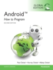Android: How to Program, Global Edition - eBook