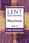 Lent for Everyone : Matthew Year A - eBook
