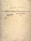 The Artist's Reality : Philosophies of Art - Book