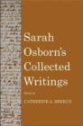 Sarah Osborn's Collected Writings - Book