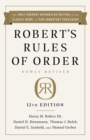 Robert's Rules of Order Newly Revised In Brief, 2nd edition - eBook