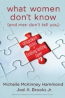 What Women Don't Know (and Men Don't Tell You) : The Unspoken Rules of Finding Lasting Love - eBook
