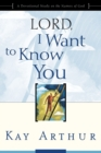 Lord, I Want to Know You : A Devotional Study on the Names of God - eBook