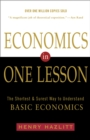 Economics in One Lesson : The Shortest and Surest Way to Understand Basic Economics - eBook