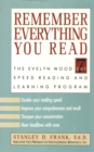 Remember Everything You Read - eBook
