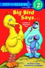 Big Bird Says... (Sesame Street) - eBook