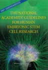 2007 Amendments to the National Academies' Guidelines for Human Embryonic Stem Cell Research - eBook
