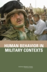 Human Behavior in Military Contexts - eBook