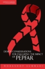 Design Considerations for Evaluating the Impact of PEPFAR : Workshop Summary - eBook