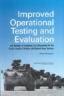 Improved Operational Testing and Evaluation and Methods of Combining Test Information for the Stryker Family of Vehicles and Related Army Systems : Phase II Report - eBook