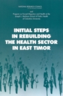 Initial Steps in Rebuilding the Health Sector in East Timor - eBook