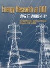 Energy Research at DOE : Was It Worth It? Energy Efficiency and Fossil Energy Research 1978 to 2000 - eBook