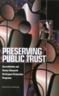 Preserving Public Trust : Accreditation and Human Research Participant Protection Programs - eBook