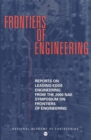 Frontiers of Engineering : Reports on Leading-Edge Engineering From the 2000 NAE Symposium on Frontiers in Engineering - eBook