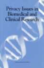 Privacy Issues in Biomedical and Clinical Research - eBook