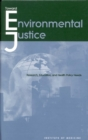 Toward Environmental Justice : Research, Education, and Health Policy Needs - eBook
