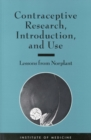 Contraceptive Research, Introduction, and Use : Lessons From Norplant - eBook