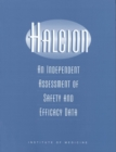 Halcion : An Independent Assessment of Safety and Efficacy Data - eBook