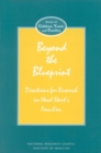 Beyond the Blueprint : Directions for Research on Head Start's Families - eBook