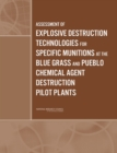 Assessment of Explosive Destruction Technologies for Specific Munitions at the Blue Grass and Pueblo Chemical Agent Destruction Pilot Plants - eBook