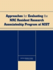 Approaches for Evaluating the NRC Resident Research Associateship Program at NIST - eBook