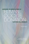Assessing the Medical Risks of Human Oocyte Donation for Stem Cell Research : Workshop Report - eBook