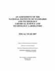 An Assessment of the National Institute of Standards and Technology Chemical Science and Technology Laboratory : Fiscal Year 2007 - eBook