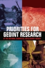 Priorities for GEOINT Research at the National Geospatial-Intelligence Agency - eBook