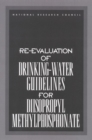 Re-evaluation of Drinking-Water Guidelines for Diisopropyl Methylphosphonate - eBook