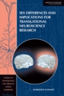 Sex Differences and Implications for Translational Neuroscience Research : Workshop Summary - eBook