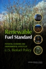 Renewable Fuel Standard : Potential Economic and Environmental Effects of U.S. Biofuel Policy - eBook