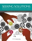 Seeking Solutions : Maximizing American Talent by Advancing Women of Color in Academia: Summary of a Conference - eBook