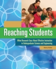 Reaching Students : What Research Says About Effective Instruction in Undergraduate Science and Engineering - eBook