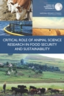 Critical Role of Animal Science Research in Food Security and Sustainability - eBook