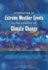Attribution of Extreme Weather Events in the Context of Climate Change - eBook