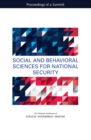 Social and Behavioral Sciences for National Security : Proceedings of a Summit - eBook