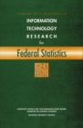 Summary of a Workshop on Information Technology Research for Federal Statistics - eBook
