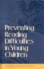 Preventing Reading Difficulties in Young Children - eBook
