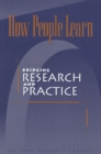 How People Learn : Bridging Research and Practice - eBook